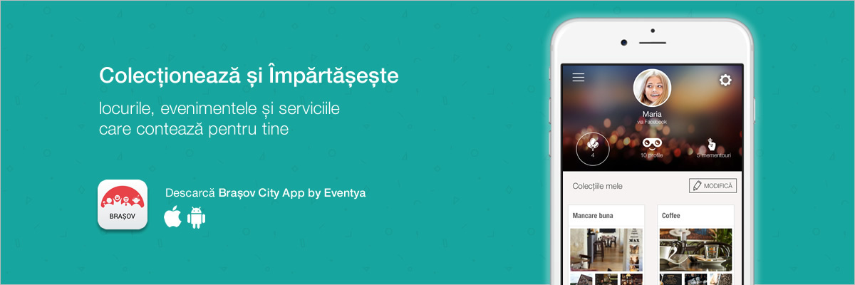 Descarcă aplicația Brașov City App by Eventya