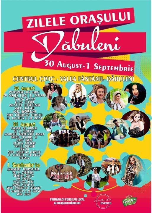Evenimente Comunitate Zilele Orașului Dăbuleni Dolj