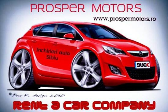 Places To Rent A Car: Prosper Motors Rent A Car Sibiu